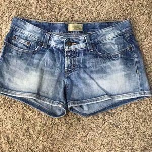BKE denim shorts size 29.